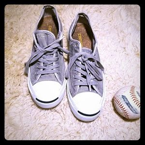 Converse Jack Purcell Cork Silver/Blue